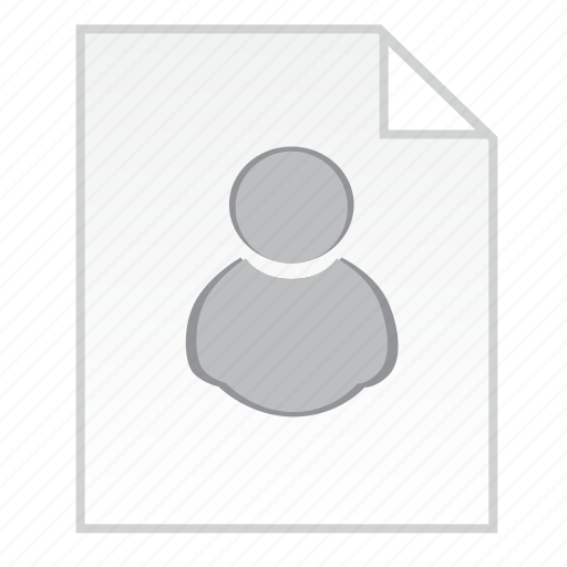 document, employee file, staff information icon