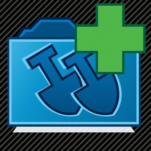 file folder, new job folder, new projects folder, works orders icon