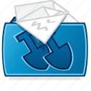 documents folder, file folder, my documents, overflowing projects folder icon