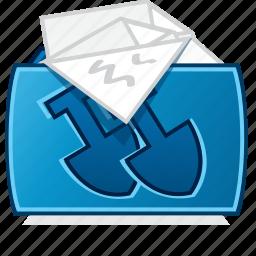 documents folder, file folder, my documents, overflowing projects folder icon