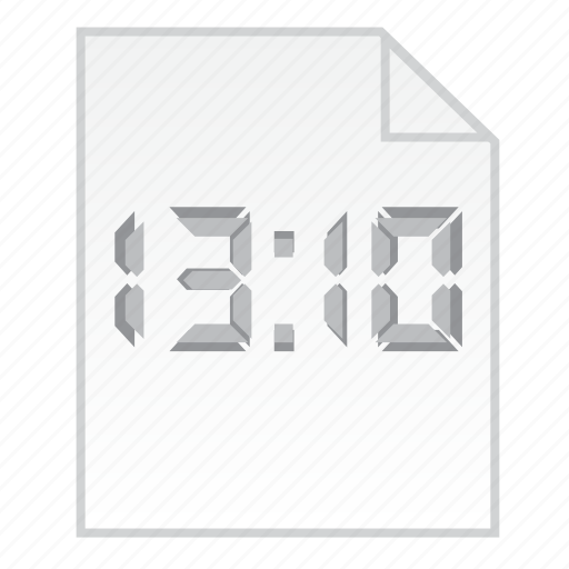 time clock, time file, timer, urgent work icon