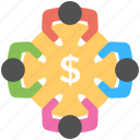 business meeting, business conference, financial, businessmen, meeting icon