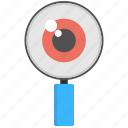 lookout, monitoring, observation, surveillance, watching icon