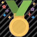 first position, medal, position holder, star medal, winner
