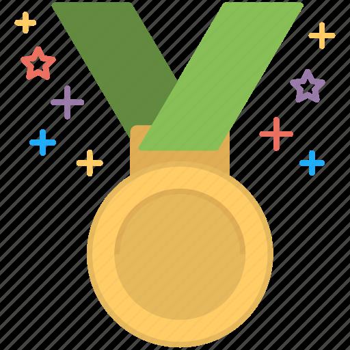 first position, medal, position holder, star medal, winner icon