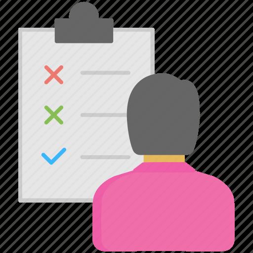 agenda, checklist, planner, task, to-do icon