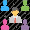 staff resource, human assets, human resource, workforce, human capital icon