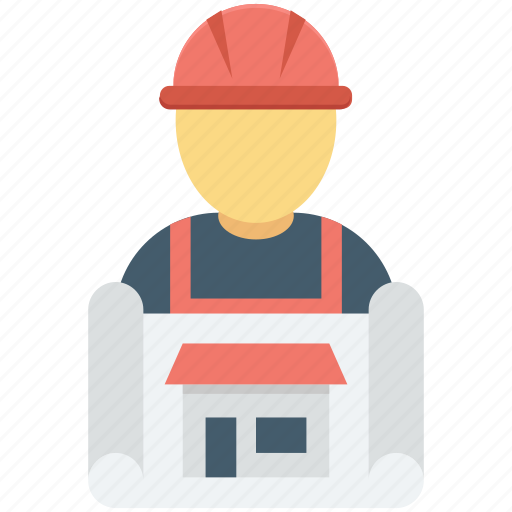 architect, avatar, builder, developer, worker icon