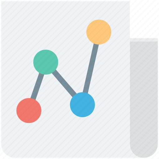analytics, business report, document, graph report, share document icon