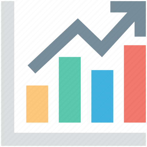 bar chart, bar graph, business growth, graph, growth chart icon