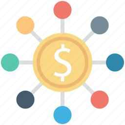 business, dollar, financial hierarchy, investment, project icon