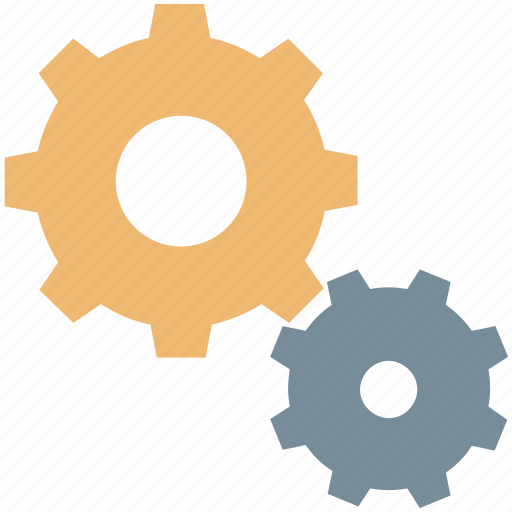 cogs, customization, options, preferences, settings icon