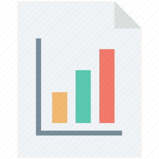 bar chart, bar graph, graph analysis, graph report, report icon
