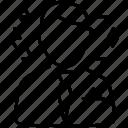 avatar, job stress, pressure, strain, tension icon