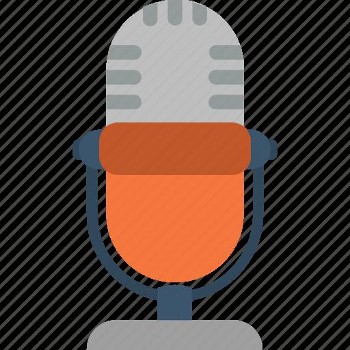 audio, media, mic, microphone, multimedia, recording, sound icon