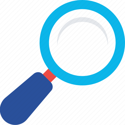 Loupe, magnifier, search tool, searching, zoom icon - Download on Iconfinder
