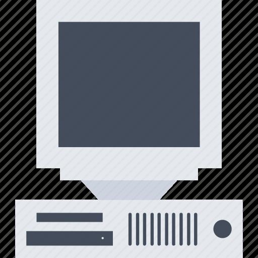computer, computer hardware, desktop computer, microcomputer, pc, workstation icon