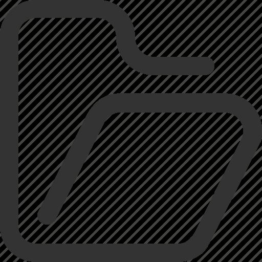 archive, case, data, files, folder, open, portfolio icon
