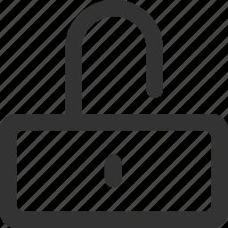 access, key, lock, password, safe, secure, unlock icon