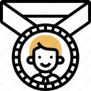 reward, employee, badge, promotion, motivation