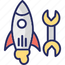 launch, missile, rocket, space shuttle, startup