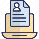 online documentation, curriculum vitae, cv, online profile, personal informations