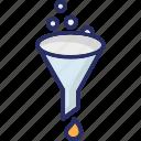 filter, filter funnel, funnel, kitchen funnel
