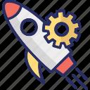 launch, missile, rocket, space shuttle