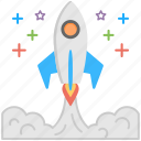 launch, missile, rocket, spaceship, startup launch