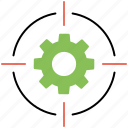 achievement, goal settings, motivation, success, target icon