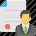 business certifications, employee motivation, employer certificate, professional certifications, professional designation icon