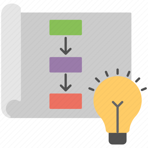 creating project, new project, project management, project planning, project strategy icon