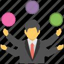 multi skilled, multitasking skills, professional, proficient, skilful icon