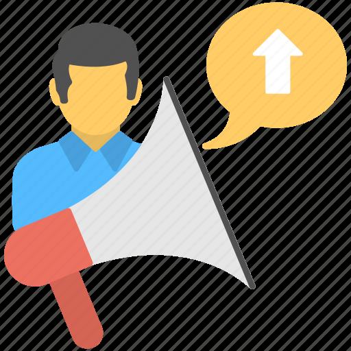 career advancement, job promotion, promote employees, promotion announcement, work promotion icon