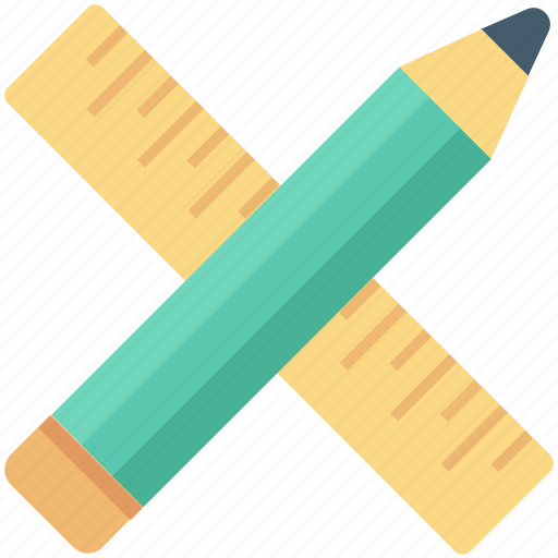 draft tools, geometry tools, pencil, ruler, scale icon