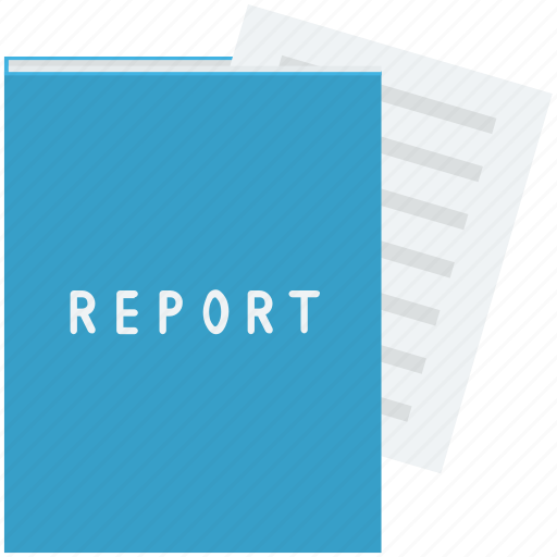 document, file, record, report, statement icon