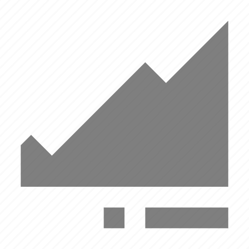 business growth, graph, growth, progress chart, stock graph icon