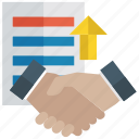 agreement, collaboration, contract, deal, partnership icon