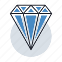 diamond, importance, project, result, value icon