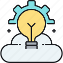 brainstorm, creativity, idea icon