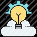 brainstorm, creativity, idea icon
