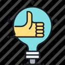 creative, good job, great, like, thumbs up