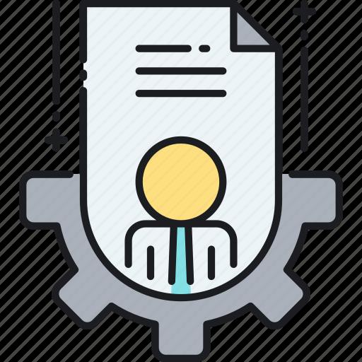 employee, employee management, management, talent management icon
