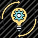 generation, idea, innovation icon