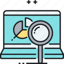 analysis, analytics, data, monitoring, research icon