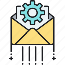 email, letter, mail, message, project, project message icon