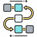 analysis, analytics, blocks, data, research, task, task analysis icon