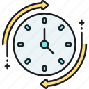 clock, time, timer, timing icon