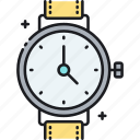 watch, wristwatch icon