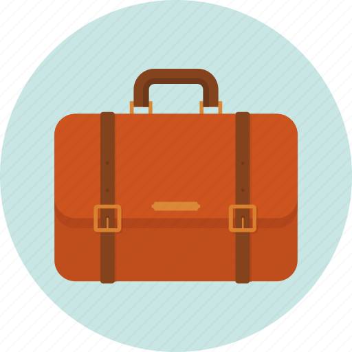 briefcase, documents bag, office bag, portfolio bag icon